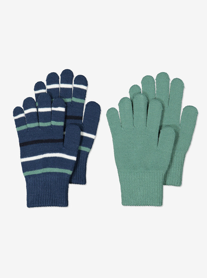 Kids Blue Magic Gloves