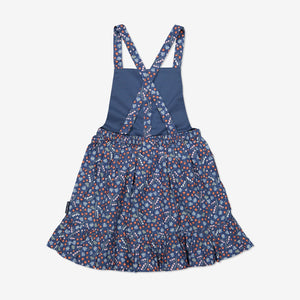 Girls Blue Pinafore Dress