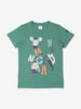 Kids Organic Cotton Green T-Shirt