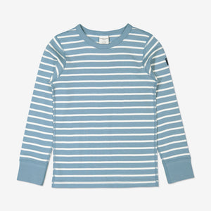 Kids Striped Blue Organic Top