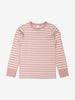 Kids Striped Pink Organic Top