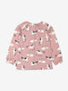 Girls Pink Organic Kids Unicorn Top