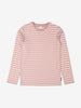 Kids Pink Striped Organic Top