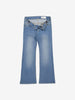 Girls Blue Denim Flared Jeans