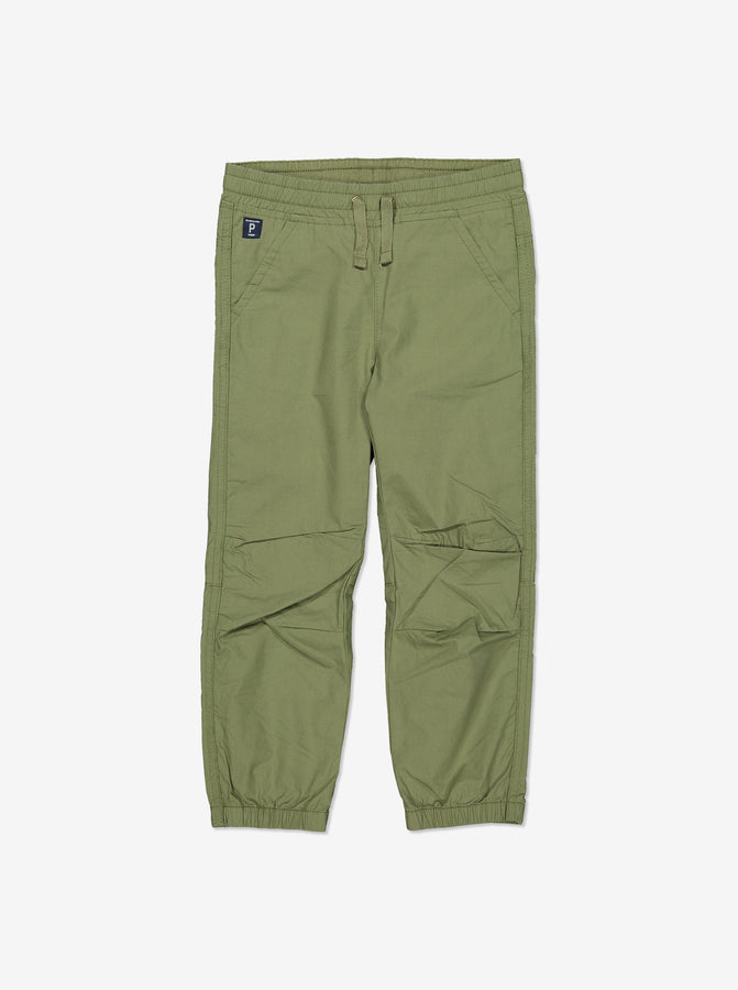 Boy Green Kids GOTS Organic Trousers