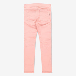 Girl Pink Kids Organic Cotton Jeggings