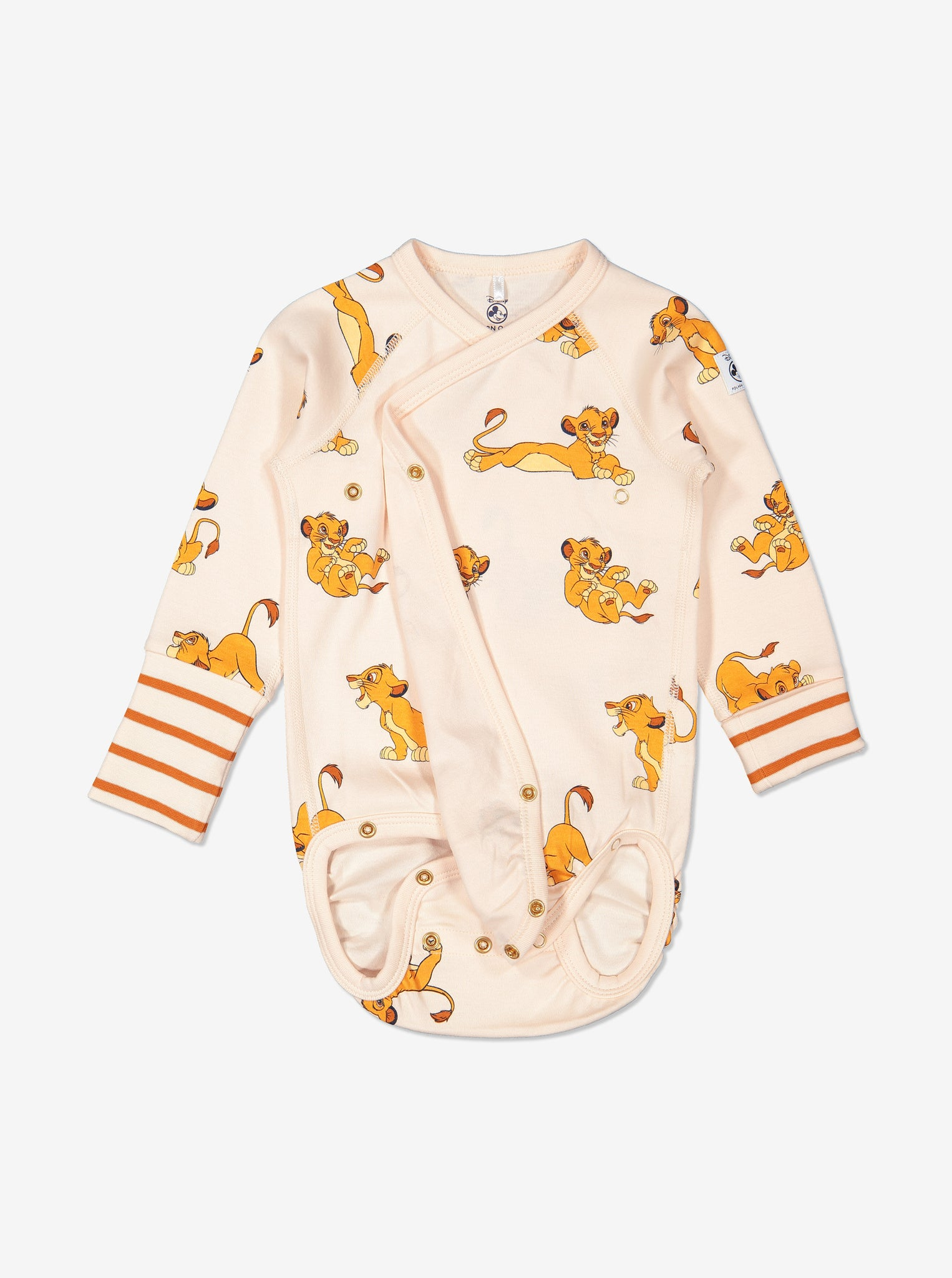 Lion King Simba Newborn Babygrow