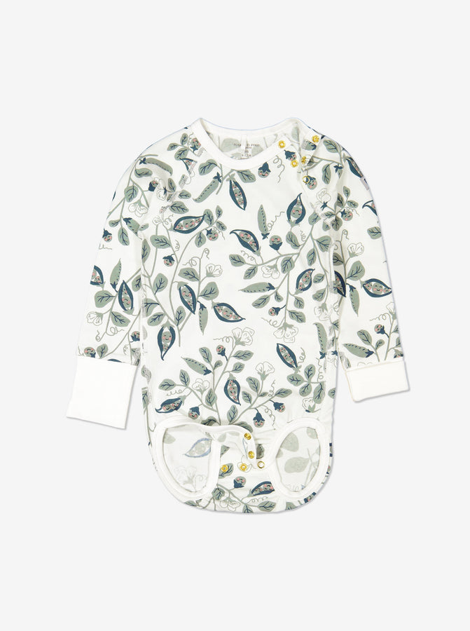 Girl Natural GOTS Organic Babygrow