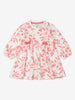 Girl Beige Floral Baby Dress