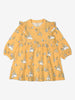 Girl Yellow Soft Organic Cotton Newborn Baby Dress