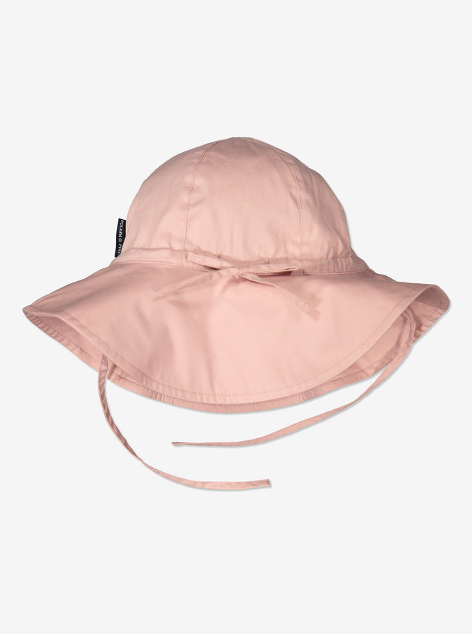 Purple UV Kids Sun Hat