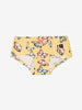 Girl Yellow Girls Butterfly Print Hipster Briefs