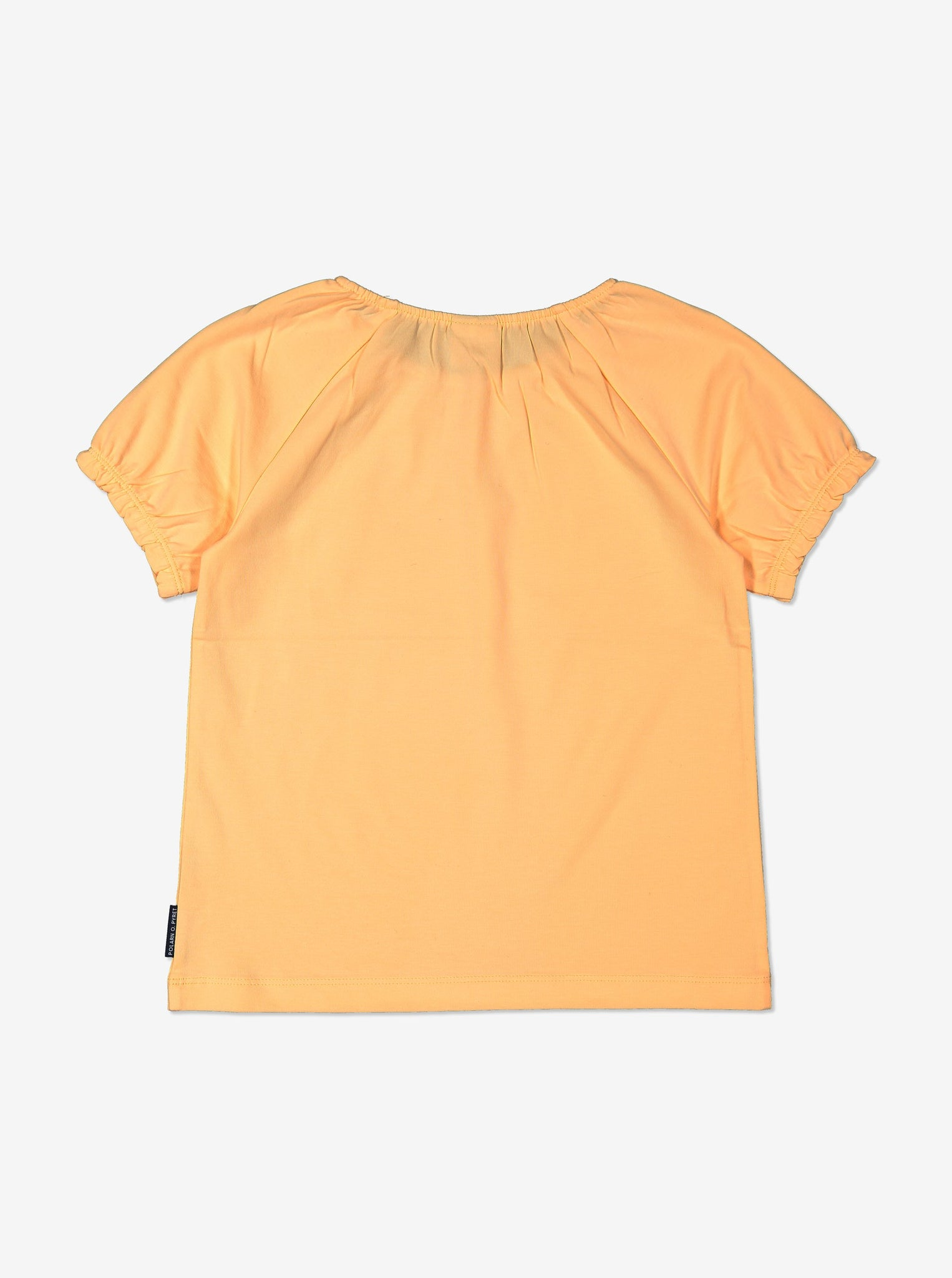 Girl Yellow GOTS Organic Puff Sleeved T-Shirt
