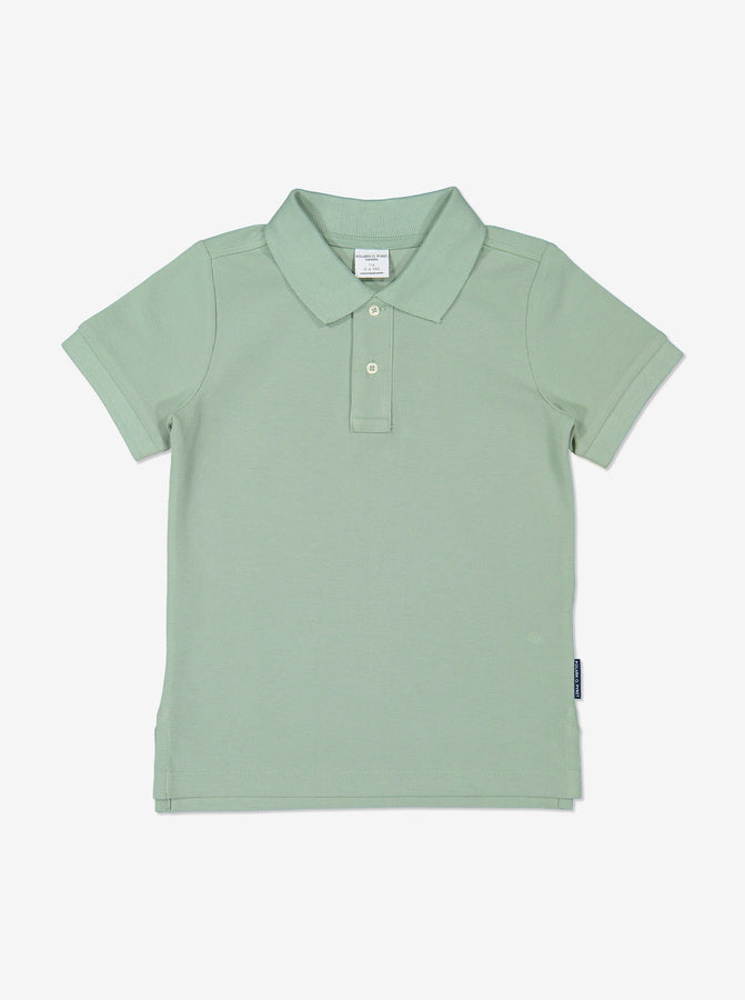 Boy Green Kids Polo T-Shirt