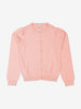 Girl Pink Fine Knit Kids Cardigan