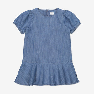 Girl Blue Kids Soft Denim Dress