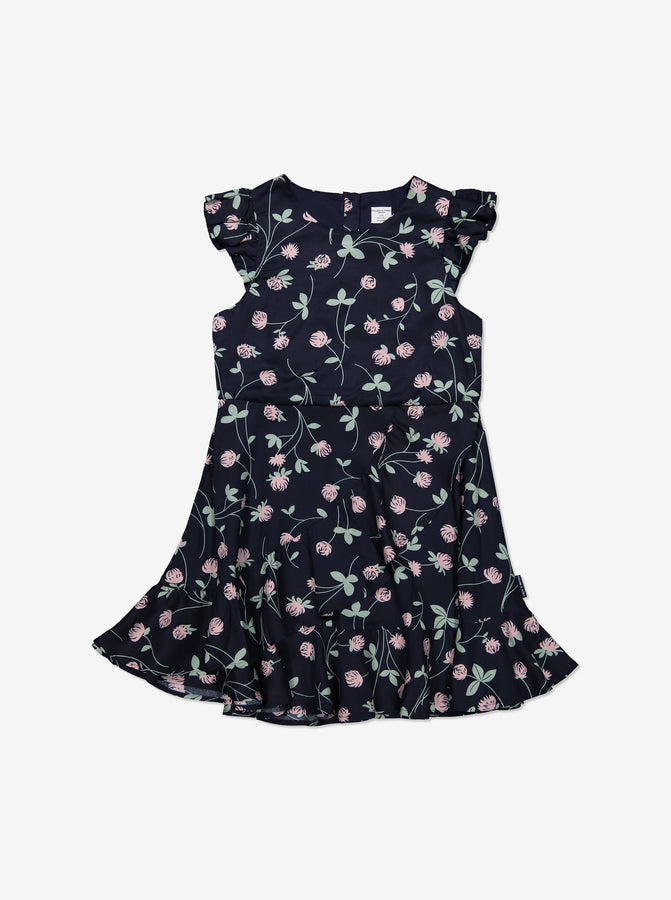 Girl Navy Kids Floral Dress
