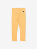 Girl Yellow Kids Organic Cotton Leggings