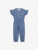 Girl Blue Kids Denim Playsuit