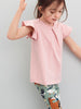 Kids Ruffle Sleeved T-Shirt