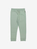 Unisex Green Kids Jersey Trousers