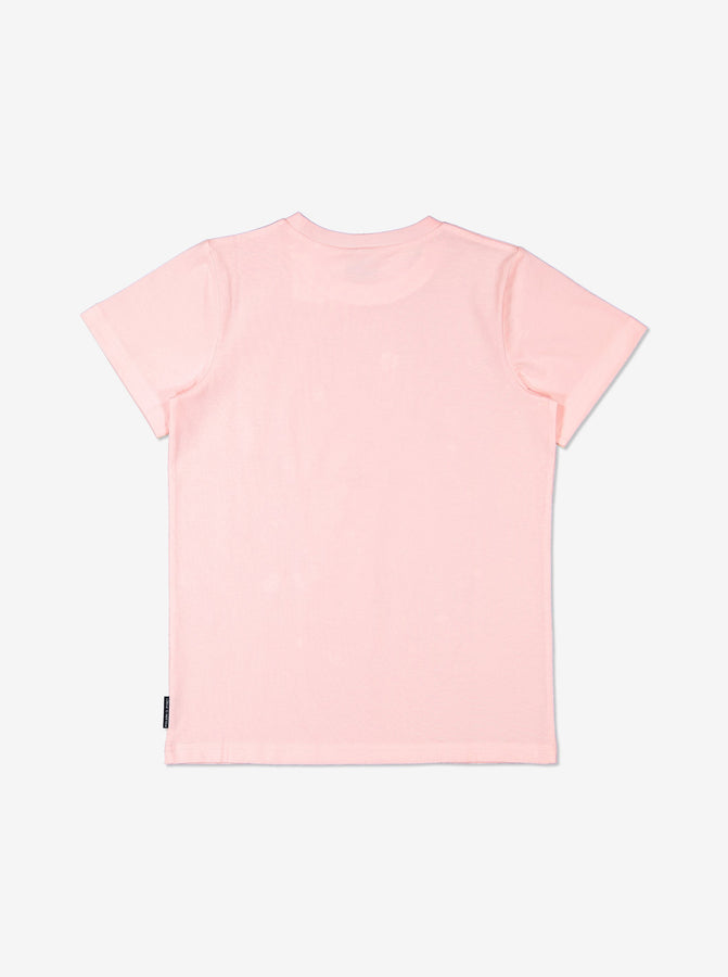 Girls Pink Kids GOTS Organic T Shirt