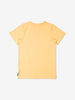 Girls Yellow Kids Butterfly Print GOTS T-Shirt