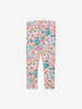 Girls Pink Kids Floral Leggings