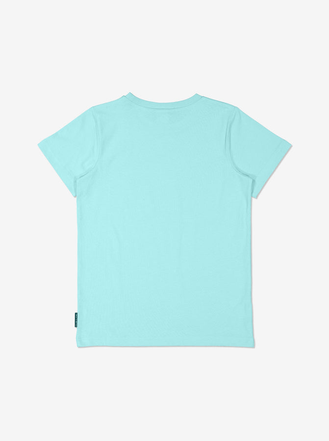 Boys Blue Kids GOTS Organic T Shirt