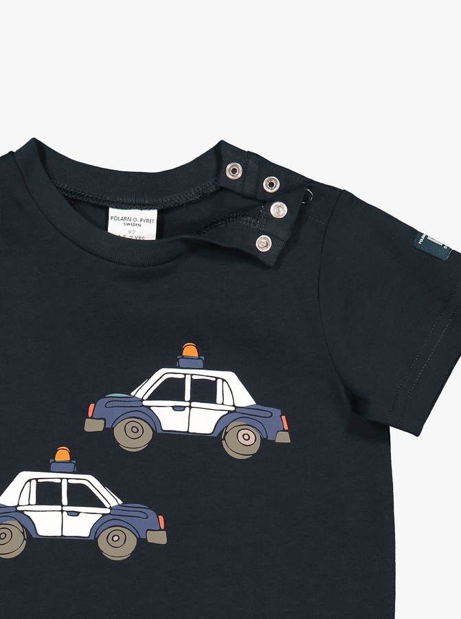 Organic Kids T-Shirt Car Print