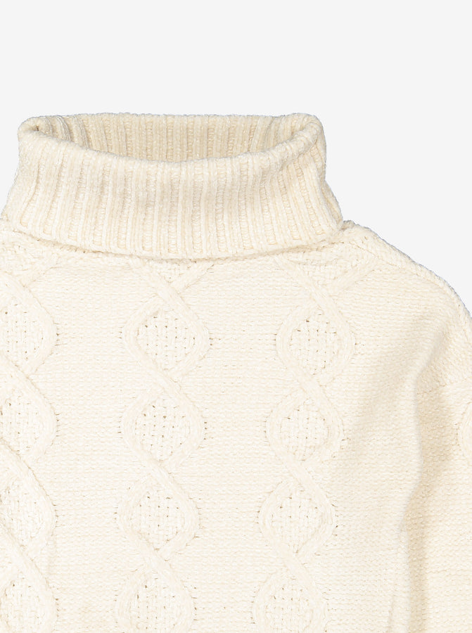 Roll Neck Kids Sweater