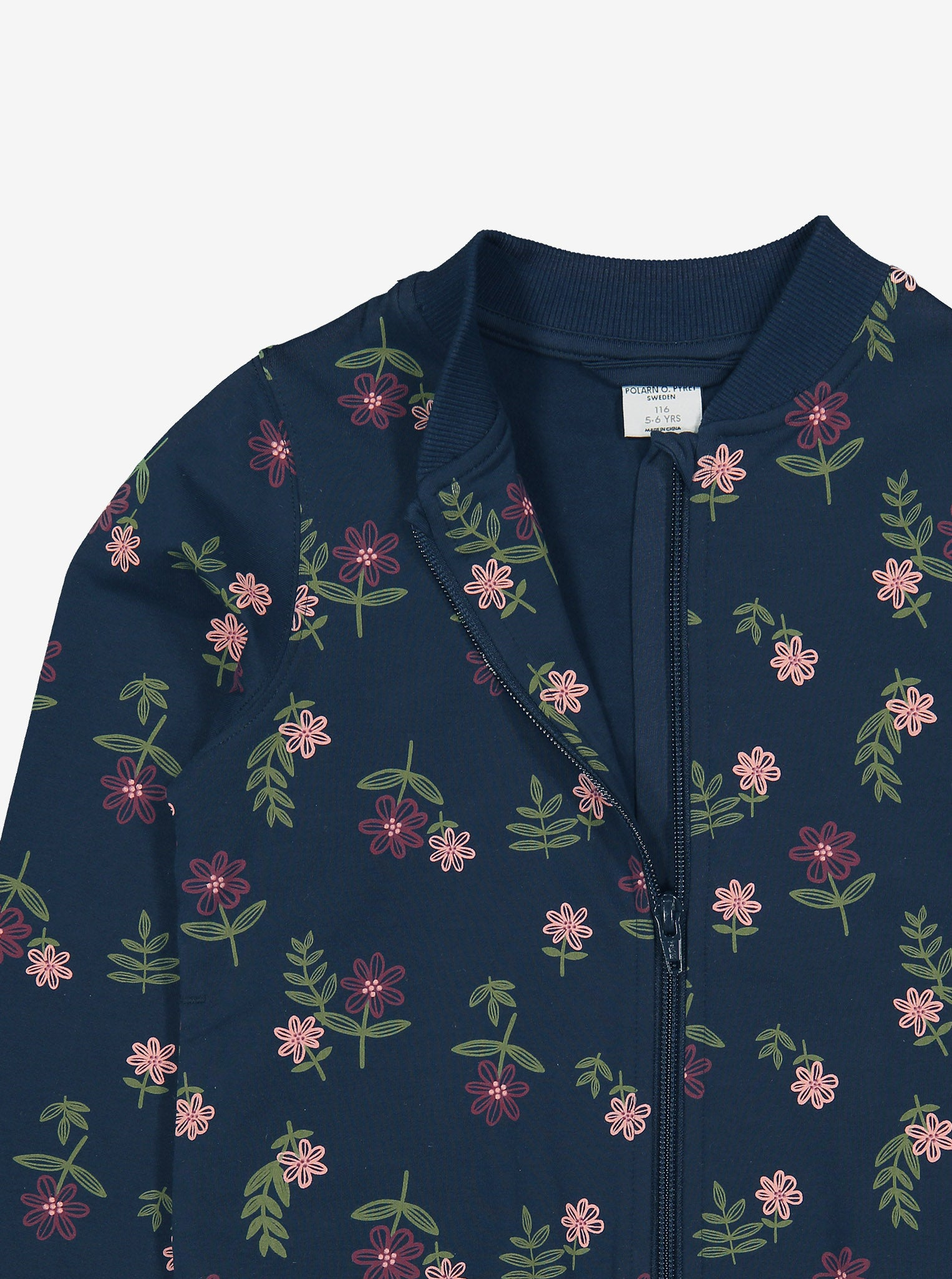 Floral Kids Bomber Jacket