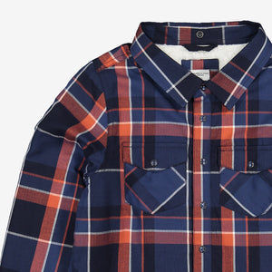 Fleece Lined Kids Shirt