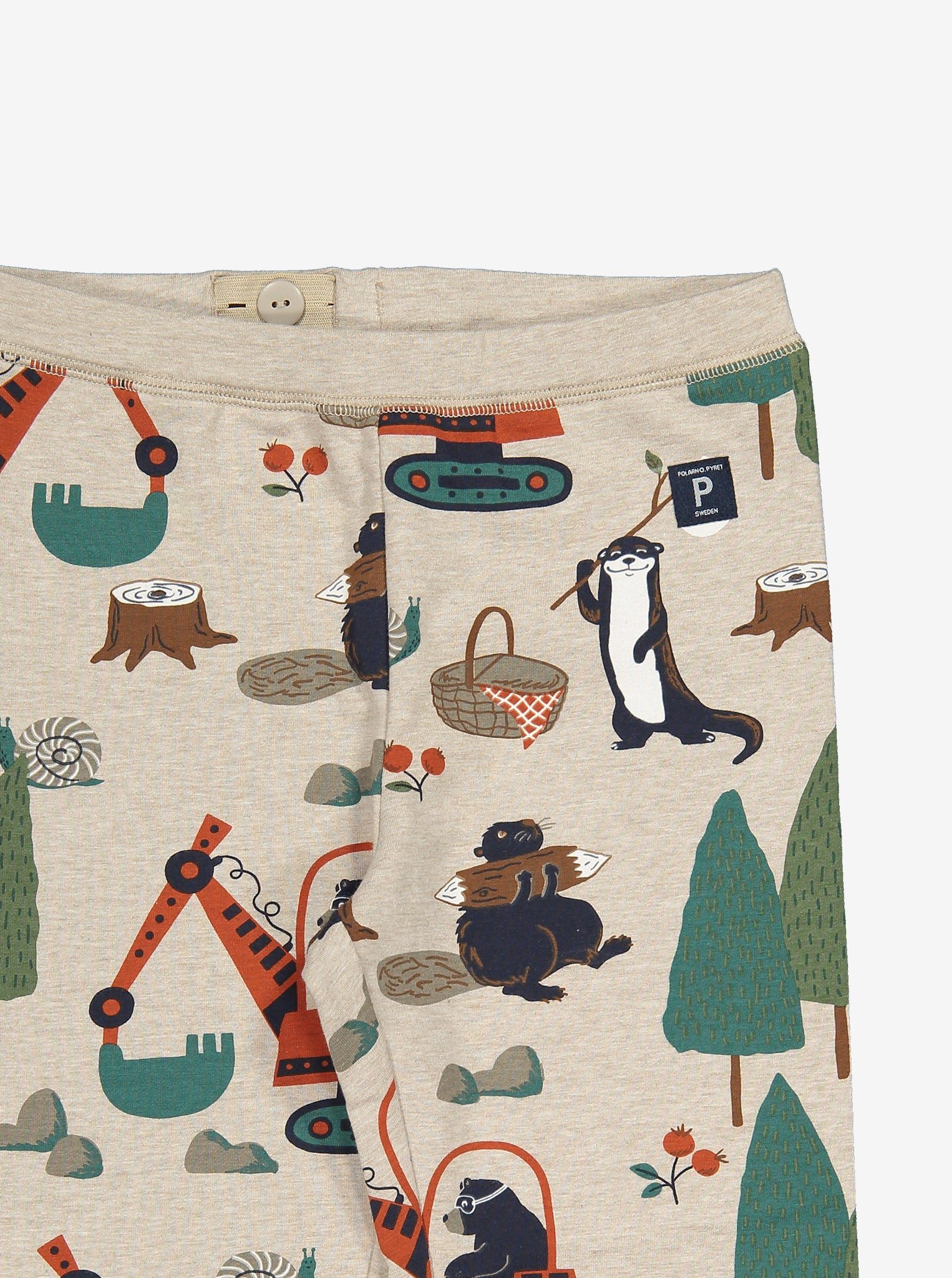Animal Adventure Kids Leggings