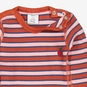 Striped Ribbed Baby Top