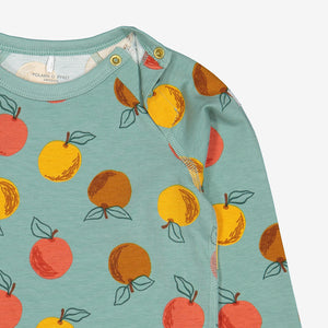 Apple Print Baby Top