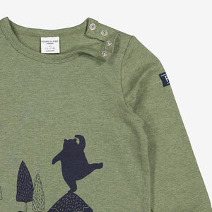 Forest Bear Kids Top