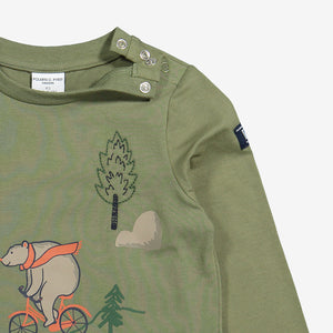 Bear Print Kids Top