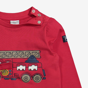 Fire Engine Print Kids Top