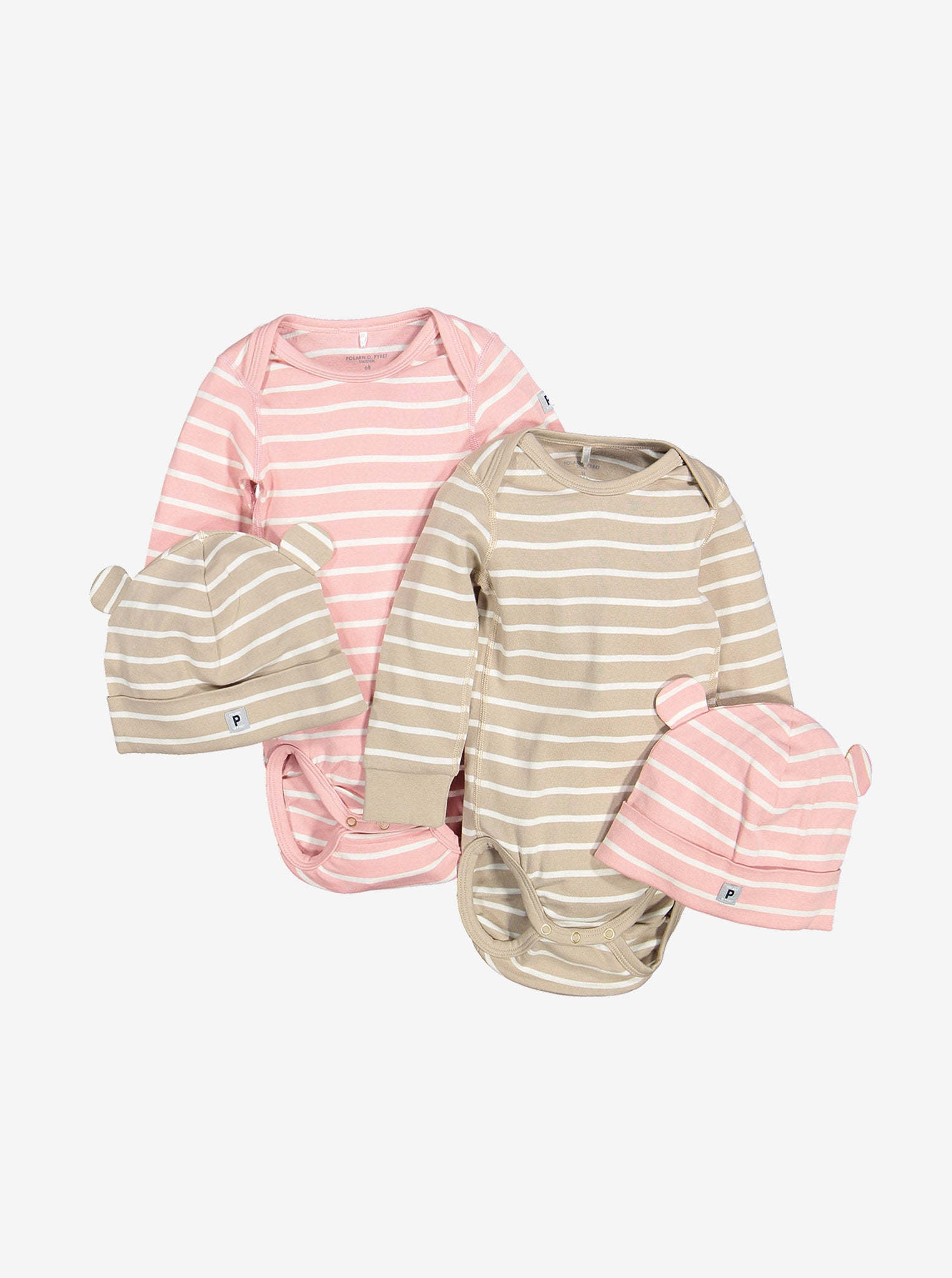 Striped Baby Bodysuit