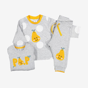 Pear Applique Baby Top