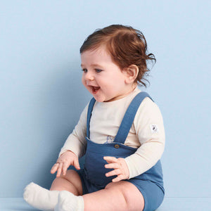 Soft Baby Short Dungarees