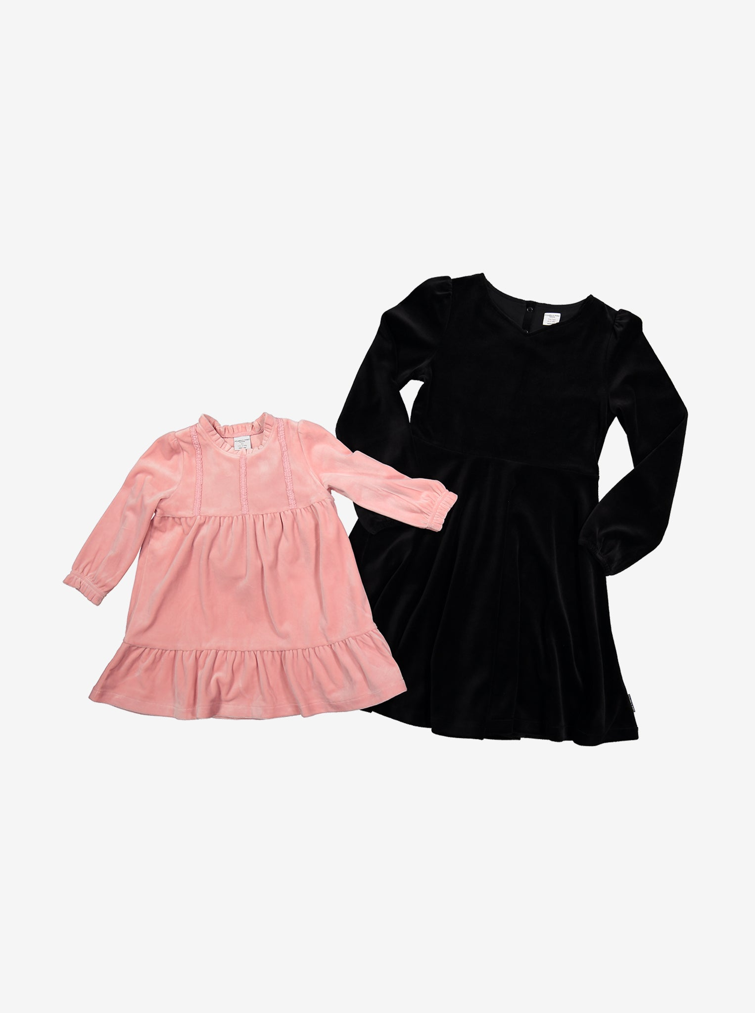Velour Kids Dress
