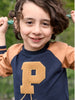 P Applique Kids Top
