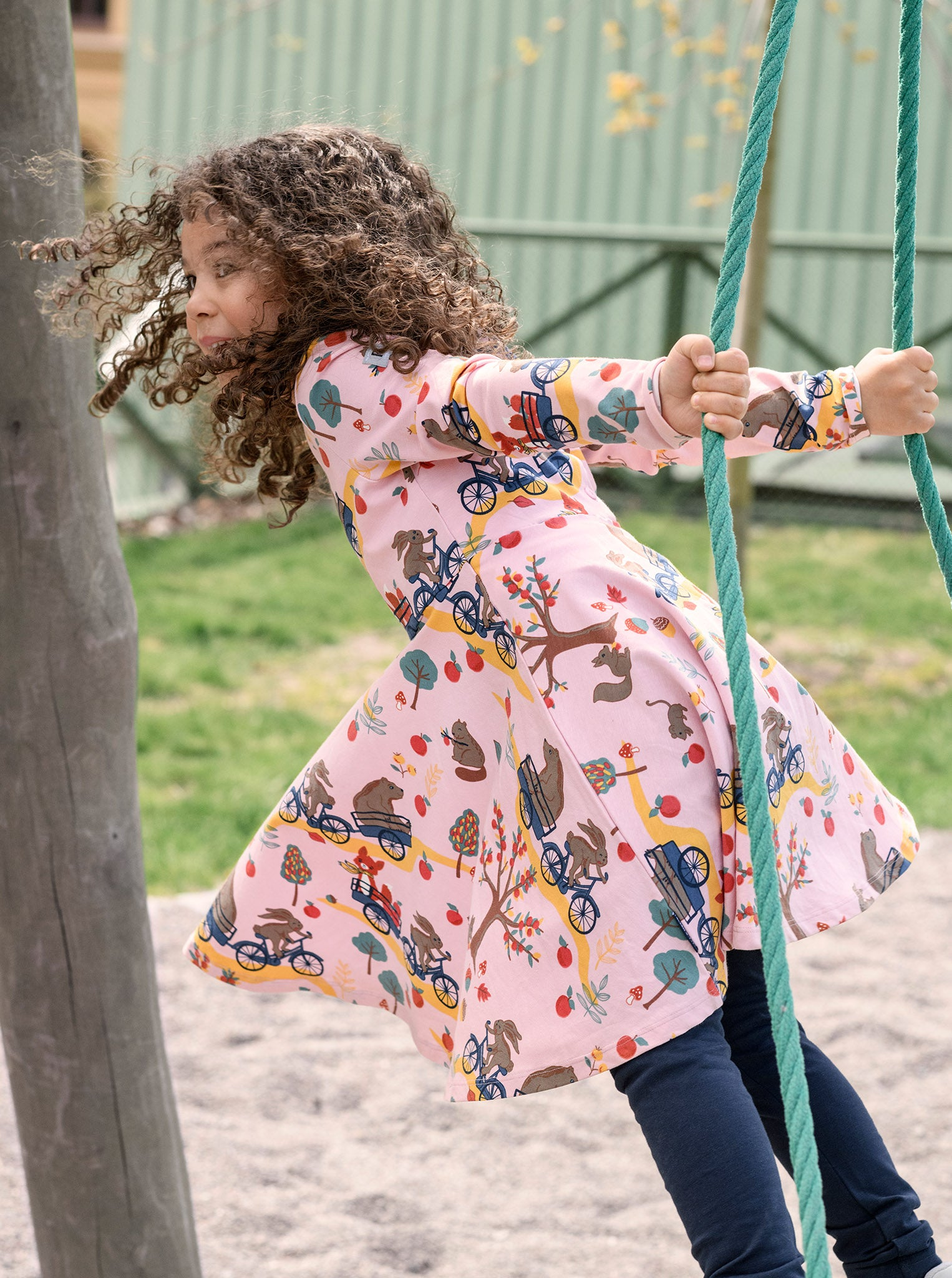 Forest Fun Kids Dress
