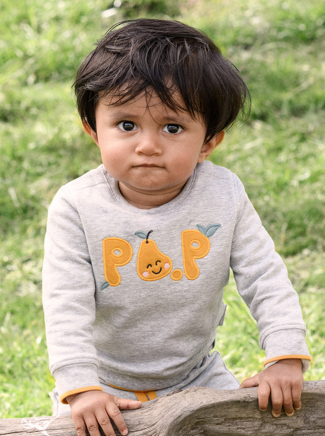 PO.P Applique Baby Top