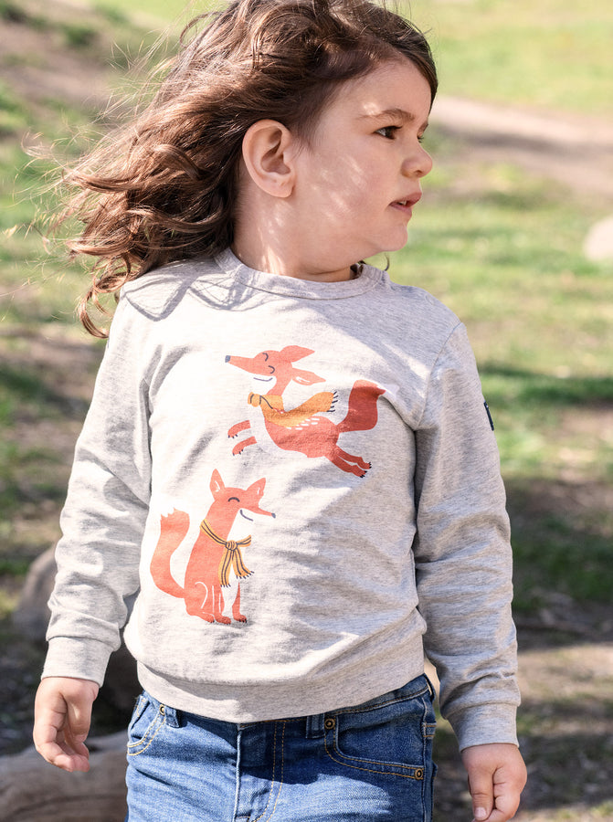 Playful Fox Kids Top
