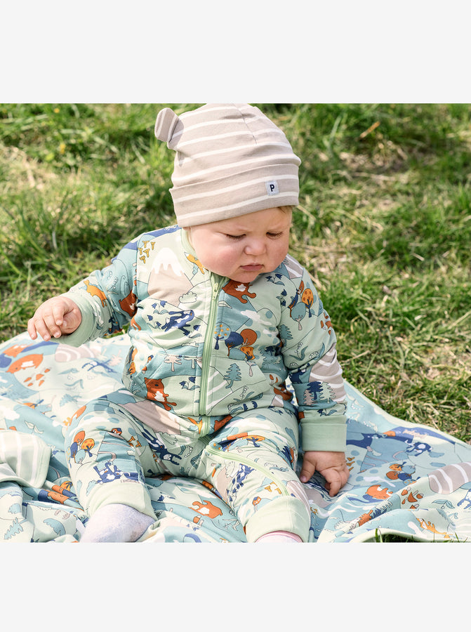 Nordic Forest Baby Romper