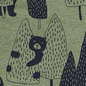 Forest Bear Kids Leggings