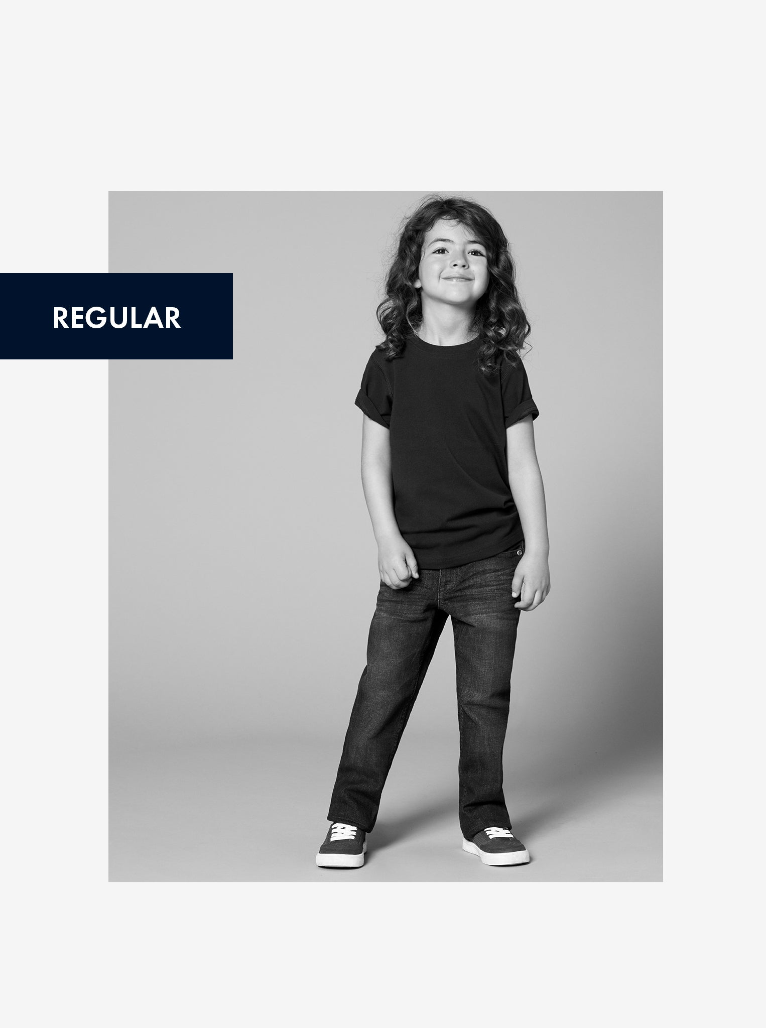 Regular Fit Kids Jeans
